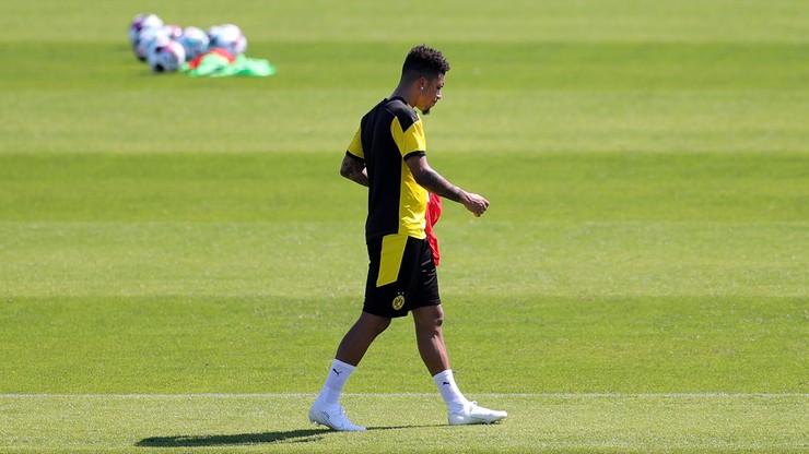 Transfer Jadona Sancho do Manchesteru United na ostatniej prostej