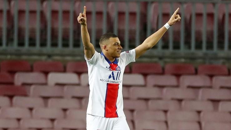 """Liga Mistrzów: Kylian Mbappe drugim piłkarzem z hat-trickiem na Camp Nou. """"Miło jest dołączyć do historii"""""""