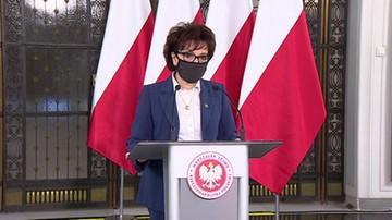 Kiedy posłowie zajmą się projektami o mandatach i działach? Odpowiada marszałek Sejmu