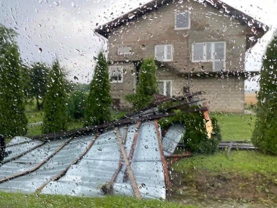 Nawałnice w Małopolsce wyrządziły wiele szkód