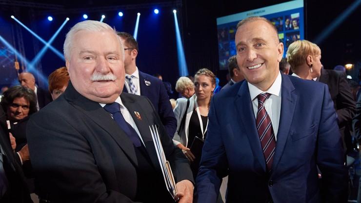"""Wałęsa porównał Schetynę do Kaczyńskiego. """"Wybrał pisowski wariant"""""""