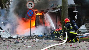 Potężna eksplozja w Świnoujściu. Spłonęło stoisko z fajerwerkami