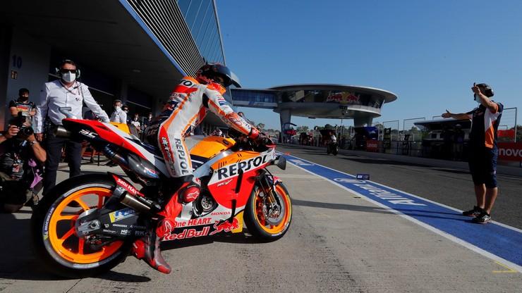 MotoGP: Kontuzjowany Marc Marquez jednak nie wystąpi w Andaluzji