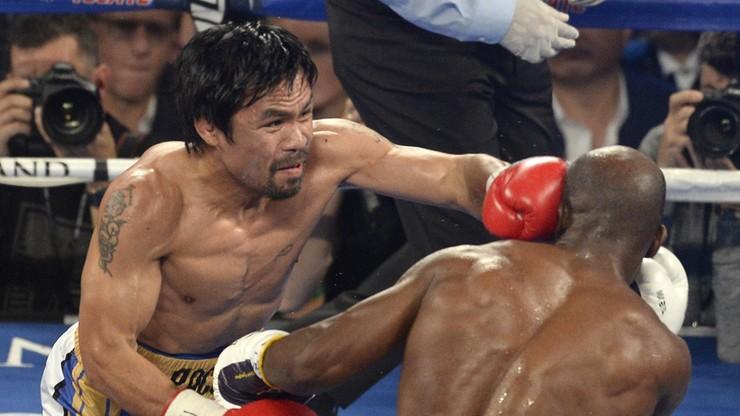 Pacquiao pożegnał się z ringiem w swoim stylu: wygrał