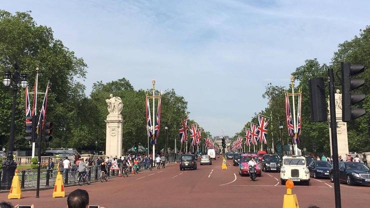 Londyn szykuje się do urodzin królowej Elżbiety II