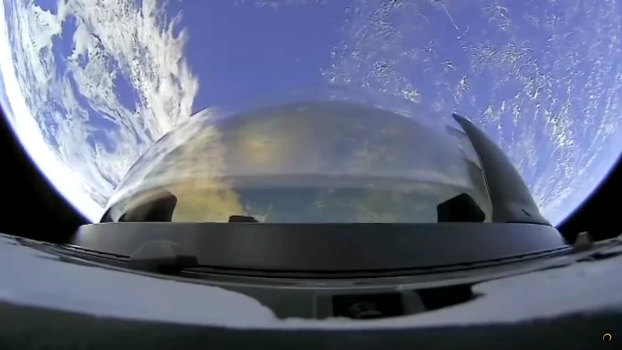 Zobacz spektakularny widok z toalety kapsuły Dragon z misji Inspiration4