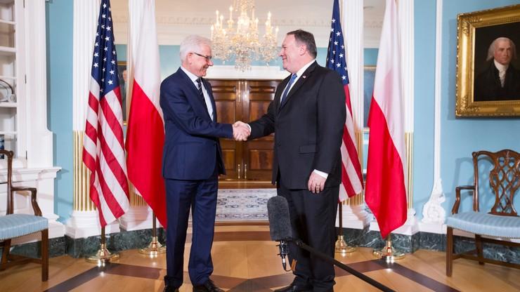 Szef MSZ: wizyta prezydenta Dudy w USA jeszcze w tym roku