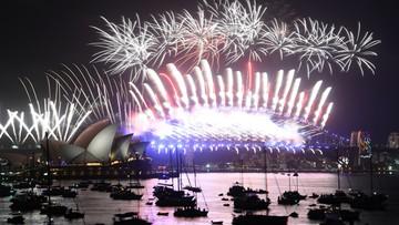 Świat wita rok 2018! Zobacz spektakularne pokazy fajerwerków