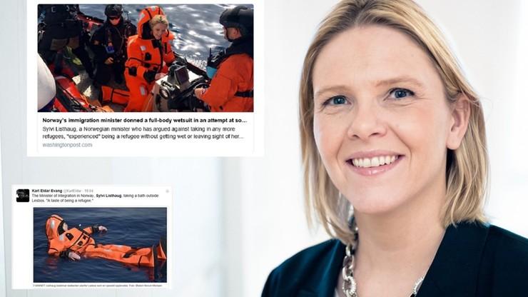 Norweska minister chciała poczuć, jak to jest być uchodźcą. Zalała ją fala krytyki
