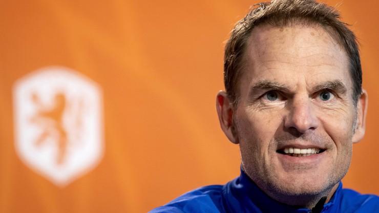 Trener Holandii: Trudno liczyć na wpadkę Włoch w Bośni