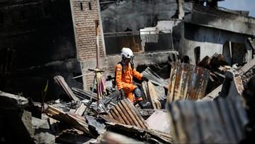 Już ponad 1550 ofiar trzęsienia ziemi i tsunami w Indonezji