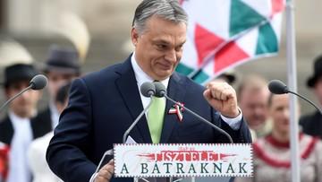 """Orban: trzeba """"powstrzymać Brukselę"""""""