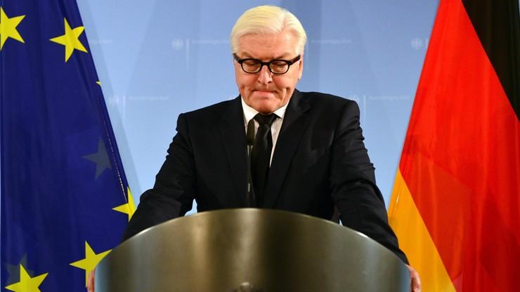 Frank-Walter Steinmeier, niemiecki minister spraw zagranicznych, kandydatem na prezydenta