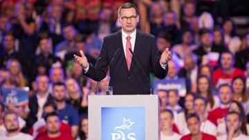 """""""O tym można myśleć, jak opozycja pokaże program wyborczy"""". Premier o debacie z Kidawą-Błońską"""
