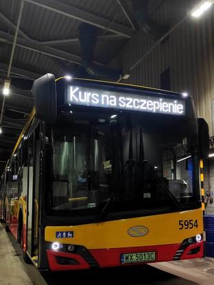 Tak oznaczone są autobusy