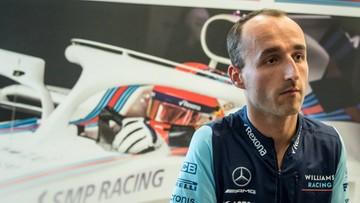 """Robert Kubica kierowcą wyścigowym Williamsa. """"To historia dla Hollywood"""""""