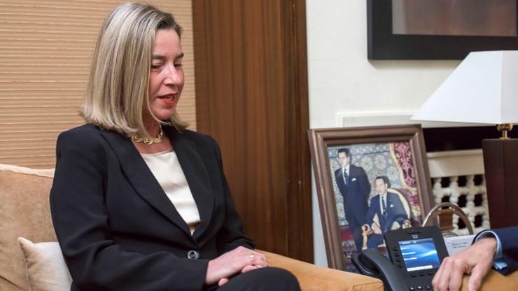 Źródło unijne: Mogherini nie weźmie udziału w konferencji bliskowschodniej w Warszawie