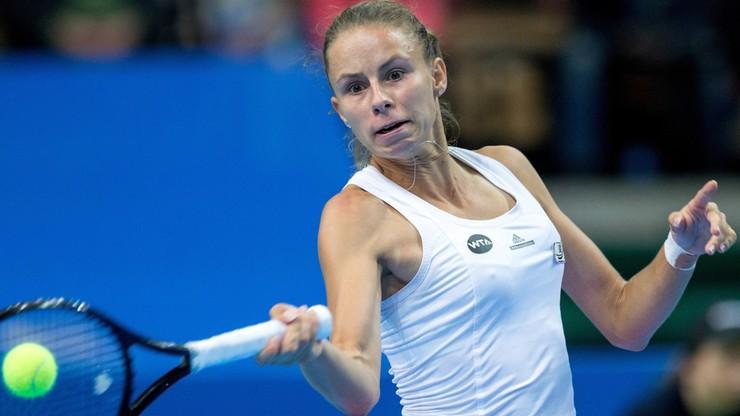 Magda Linette odpadła w ćwierćfinale turnieju w Katowicach