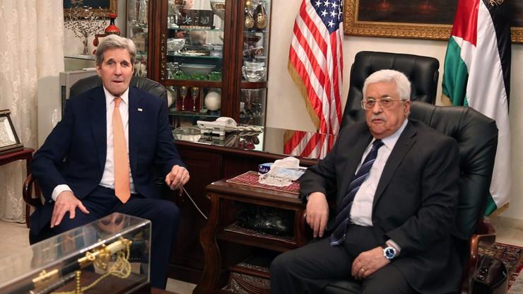 Abbas wzywa USA do poparcia konferencji na temat pokoju z Izraelem