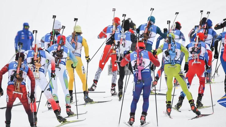 PŚ w biathlonie: Policja w kwaterze reprezentantów Rosji