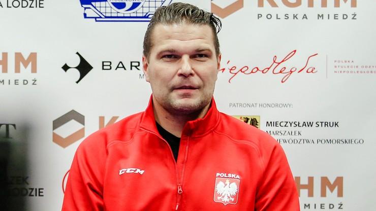 Trener hokejowej reprezentacji: Stęskniłem się za Polską