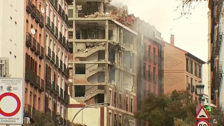 Eksplozja w centrum Madrytu. Są ofiary