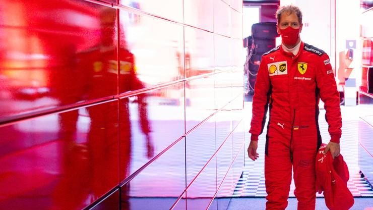 Sebastian Vettel najlepszy w drugim treningu. Hamiltonowi nie zmierzono czasu