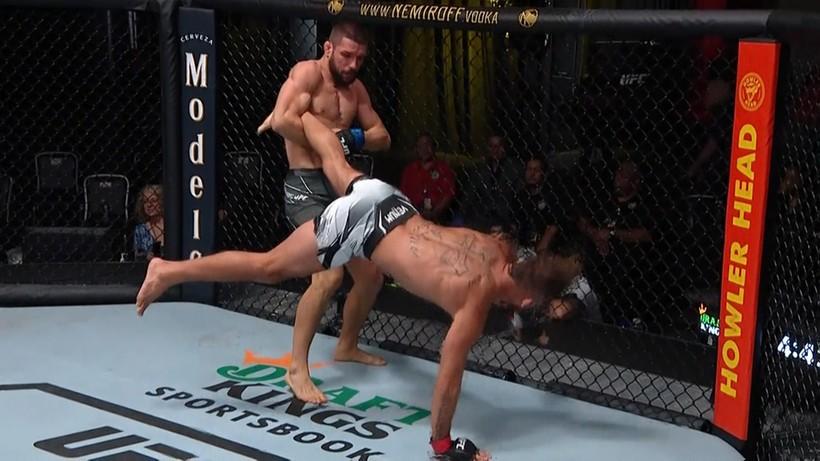 UFC: Mateusz Gamrot - Jeremy Stephens. Skrót walki