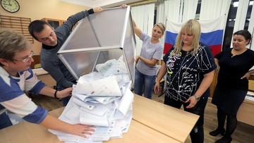 Wybory w Rosji. Są pierwsze wyniki