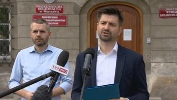 Zawiadomienie do prokuratury ws. popełnienia przestępstwa przez Morawieckiego i Sasina