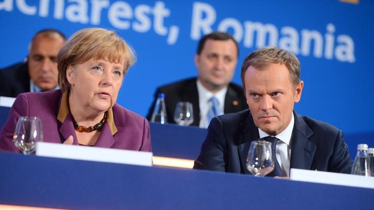 """Tusk w """"Bildzie"""": Niemcy nie powinni udawać męczenników"""