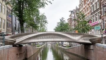 Pierwszy most na świecie wydrukowany w technologii 3D
