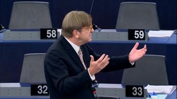 Reduta Dobrego Imienia wnioskuje o niewpuszczanie do Polski Verhofstadta. Zapowiada pozwy