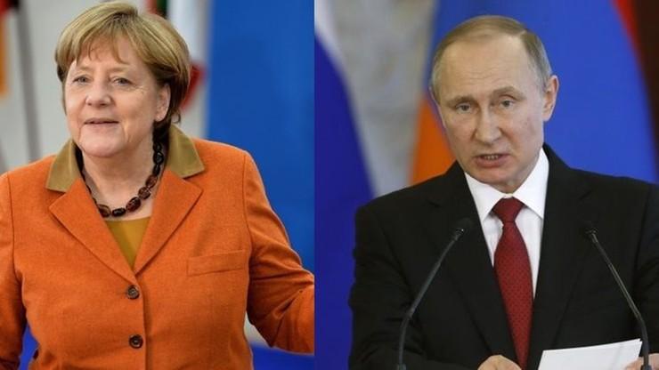 2 maja Merkel spotka się z Putinem w Moskwie