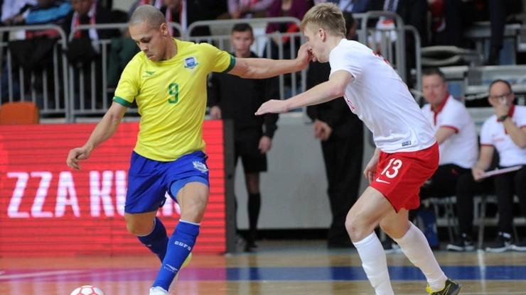Brazylia rozbiła Polskę w towarzyskim meczu futsalu