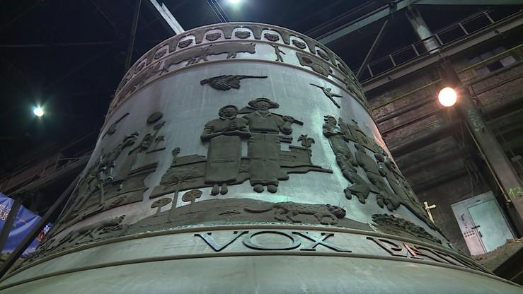 Największy dzwon na świecie powstaje w Polsce. Będzie ważył 50 ton