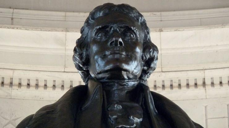 """Pomnik Jeffersona zniknie z sali obrad Rady Miejskiej. """"Był właścicielem niewolników"""""""