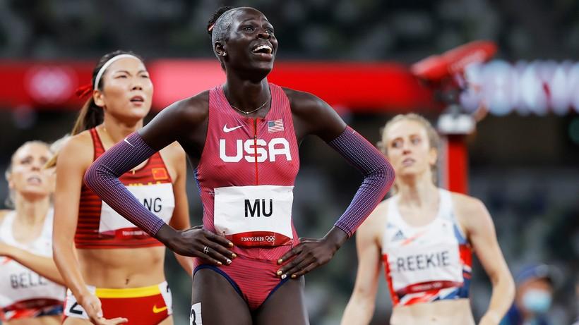 Tokio 2020: Athing Mu złotą medalistką w biegu na 800 m