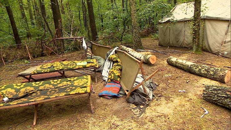 """Zarzuty po tragedii na obozie harcerskim w Suszku. """"Niedopełnienie obowiązków służbowych"""""""