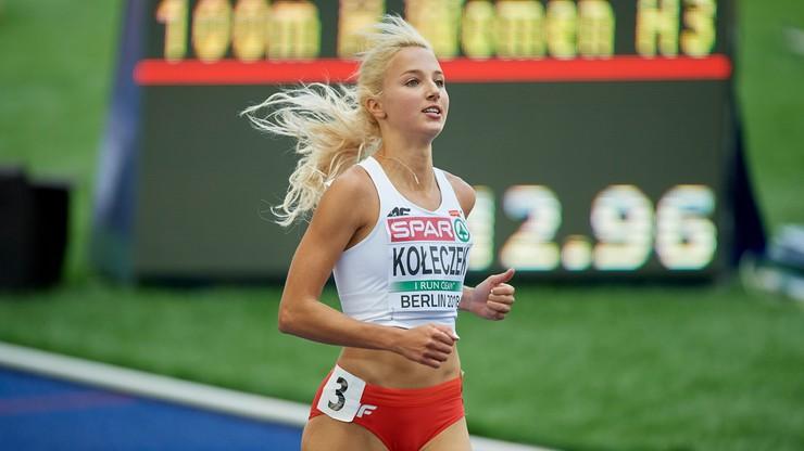 ME Berlin 2018: Kołeczek szósta na 100 m przez płotki