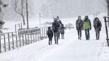 """""""Białe święta"""" w Zakopanem. Zamieć śnieżna pod Tatrami"""