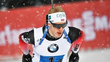 PŚ w biathlonie: 52. w karierze zwycięstwo Johannesa Thingnesa Boe