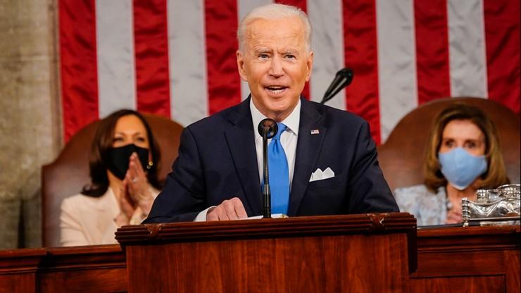 USA. Pierwsze przemówienie prezydenta Bidena w Kongresie. Podał warunek współpracy z Rosją