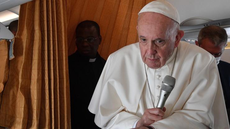 Papież Franciszek: jestem trochę stary i trochę chory, ale nie bardzo