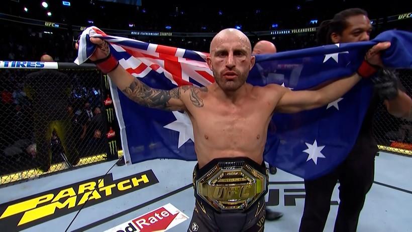 UFC 266: Pas nie zmienił właściciela. Alexander Volkanovski pozostaje mistrzem w wadze piórkowej