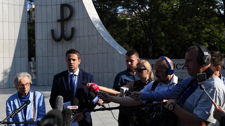 Rafał Trzaskowski składa do prokuratora generalnego wniosek o rozwiązanie ONR