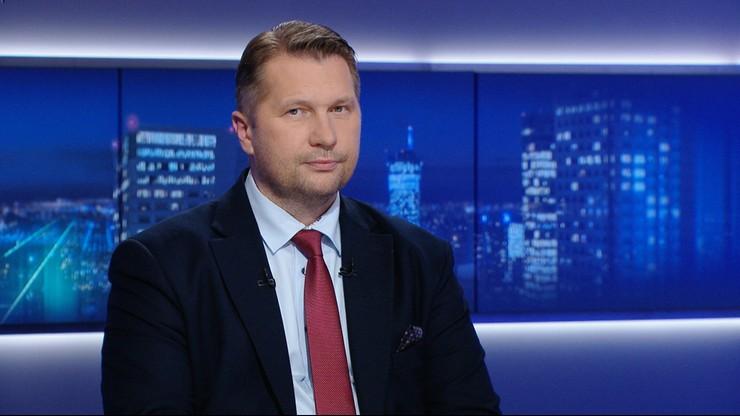 Minister edukacji Przemysław Czarnek: podwyżka pensum, czas dla uczniów i rodziców