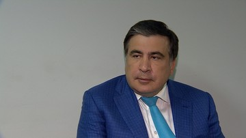 Saakaszwili: nie będę prosił o azyl w Polsce