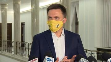"""Koalicja PSL, partii Gowina i Hołowni? """"Nie można wykluczyć żadnej opcji"""""""