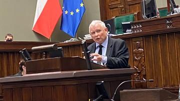 Kaczyński do opozycji: macie krew na rękach, wielu z was będzie siedzieć